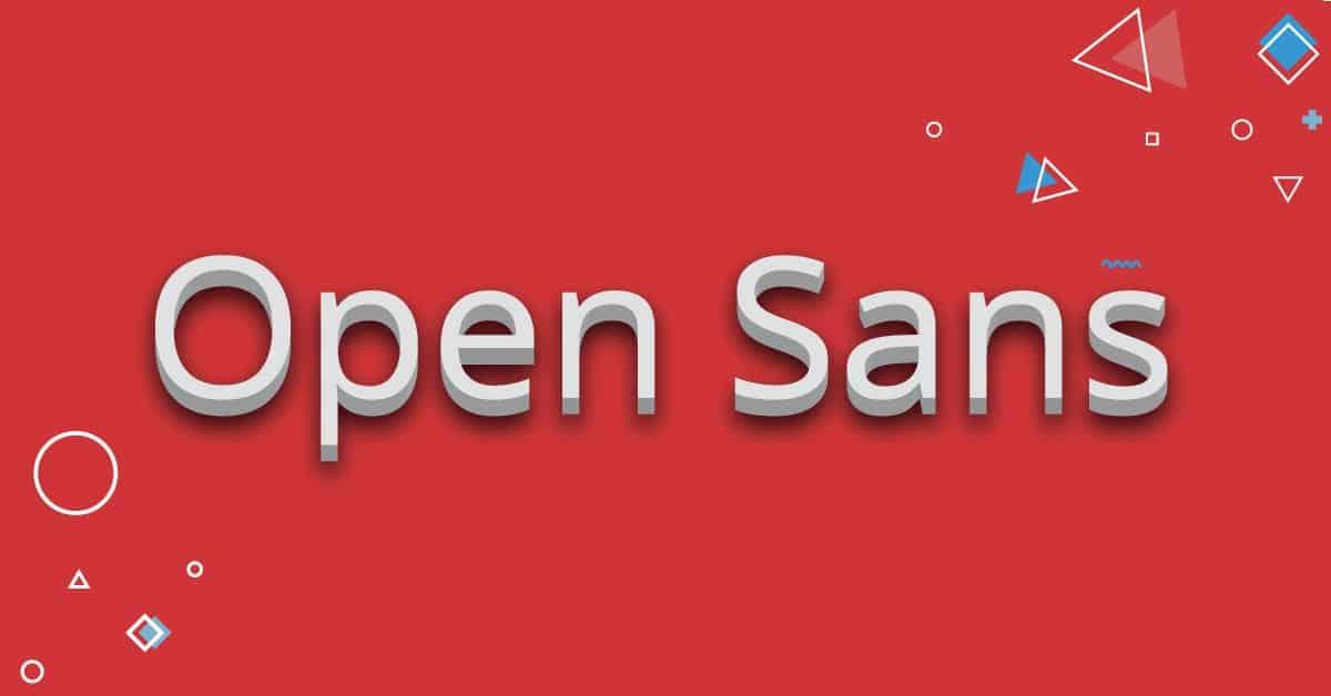 open-sans